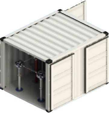 AC/DC HV TEST SYSTEM (CONTAINER TYPE) Image